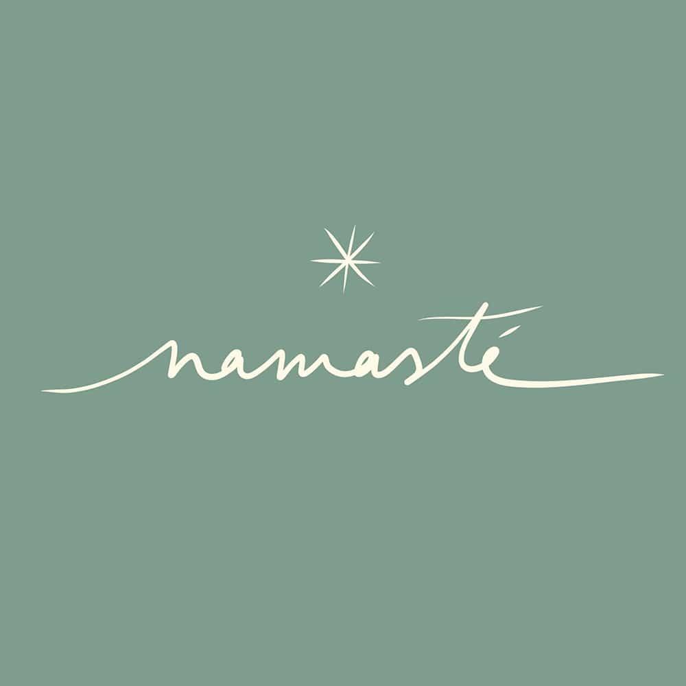 Logotype namaste