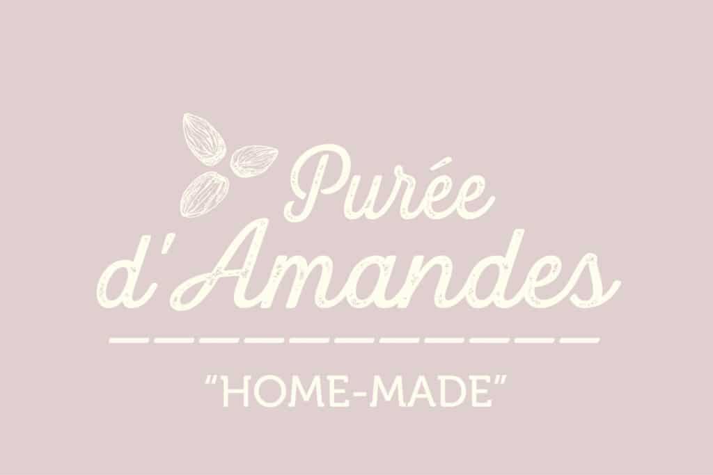Logotype purée amandes