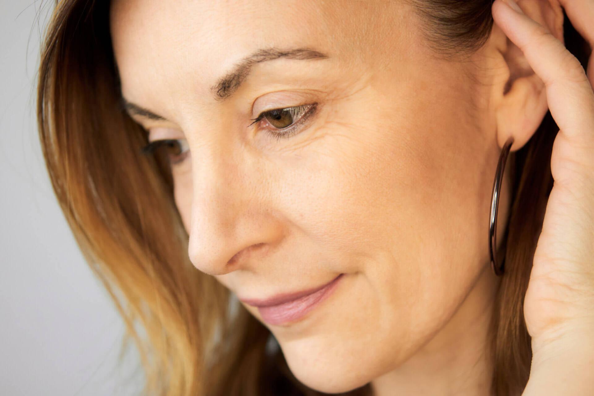 Portrait de femme beauté cosmétiques