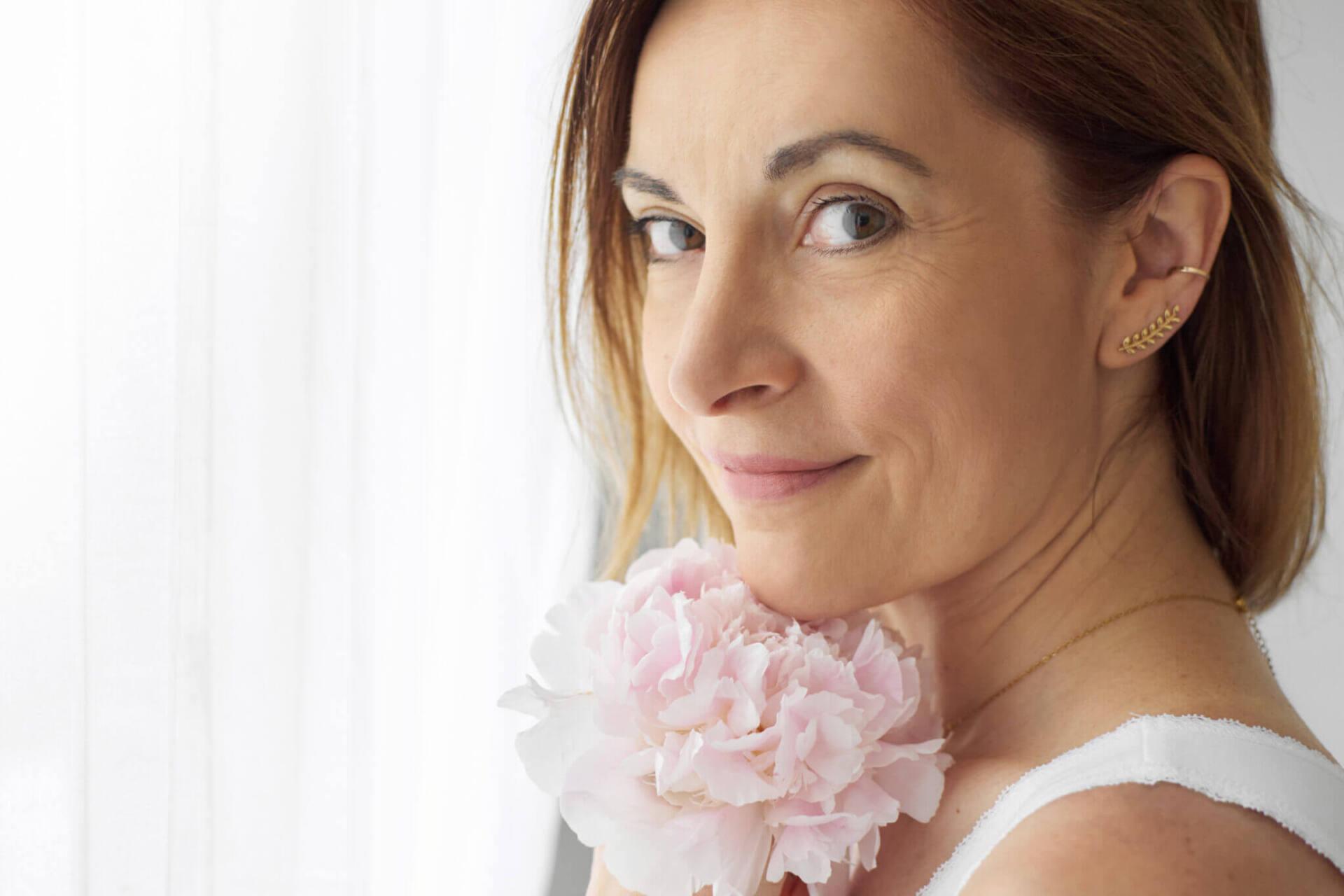 Portrait femme 40 ans et plus